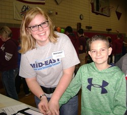 Mid-East Provides Career Day at Caldwell Elementary School