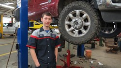 Mid-East Student on Path for Ford's ASSET Program
