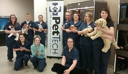 Vet Assisting & Animal Care Students Receive Pet First Aid and CPR Training