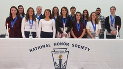 Twelve New NHS Members Inducted on Zanesville Campus