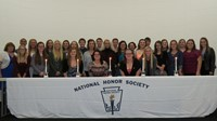 2016 Zanesville Campus National Honor Society Induction Ceremony