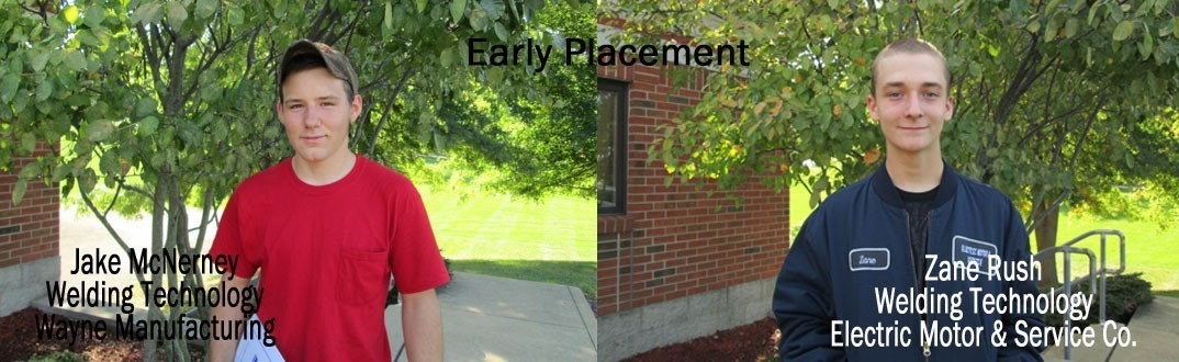 Jake McNerney & Zane Rush - Early Placement