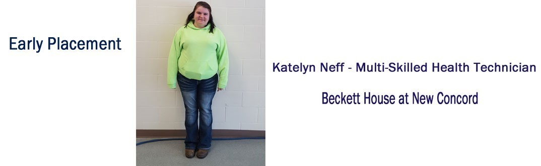 Katelyn Neff - Early Placement